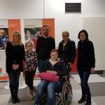 Oliver Hülsken mit Lena und Team engagierte Stadt